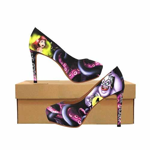Villains Ursula Platform High Heels