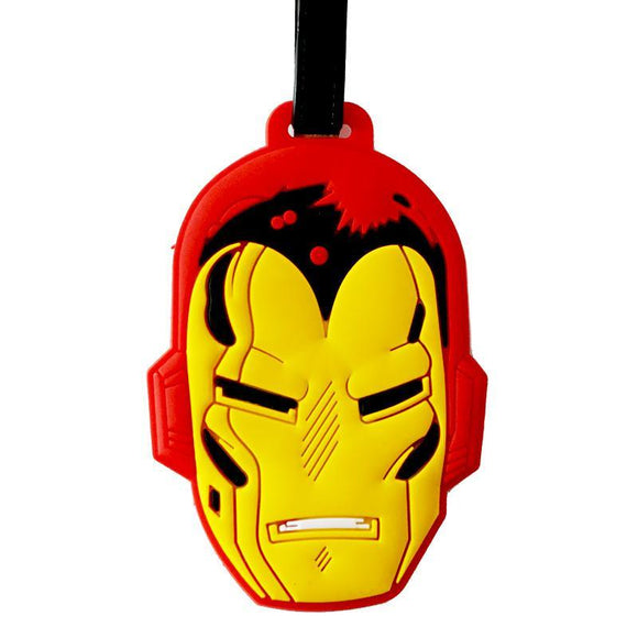 Iron Man Comic Bag Tag