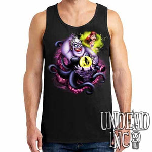 Villains Ursula - Ariel the Little Mermaid - Mens Tank Singlet