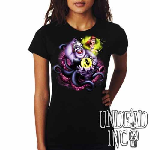 Villains Ursula - Ariel the Little Mermaid - Ladies T Shirt
