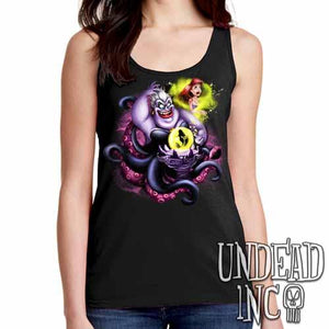 Villains Ursula - Ariel the Little Mermaid - Ladies Singlet Tank