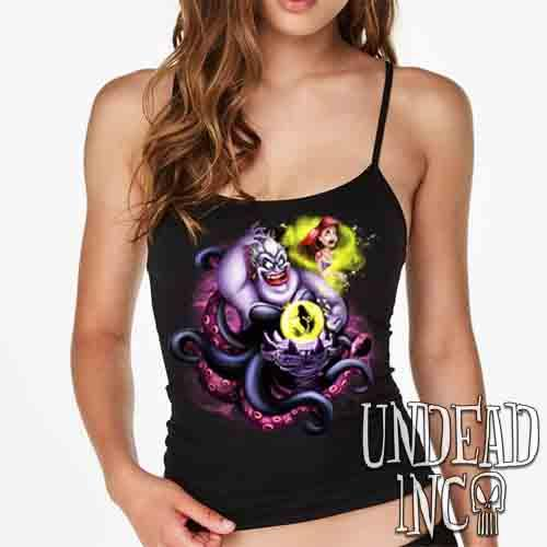 Villains Ursula - Ariel the Little Mermaid - Petite Slim Fit Tank
