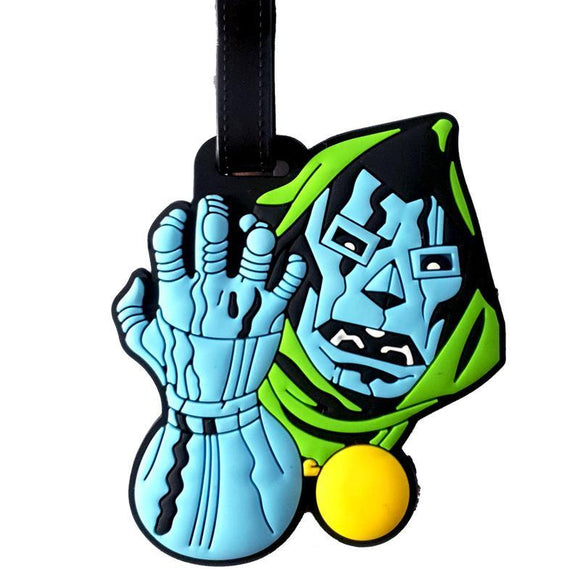 Doctor Doom Bag Tag