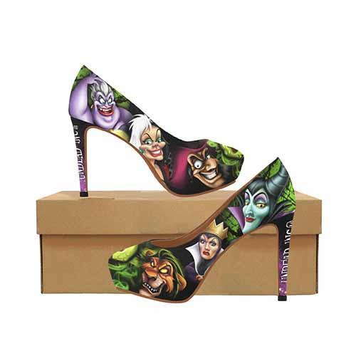 Villains A Whole Lot Of Evil Platform High Heels
