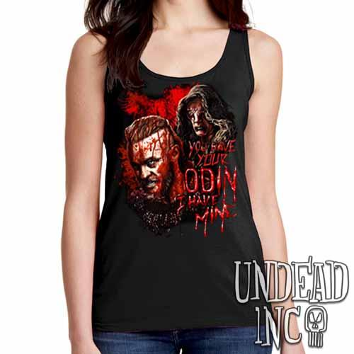 Vikings Ragnar & The Seer - Odin - Ladies Singlet Tank