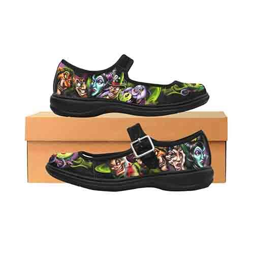 Villains Ultimate Evil Women's Mary Jane Shoes