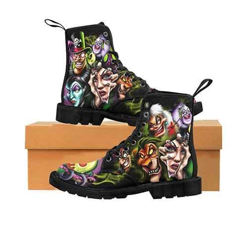 Villains A Whole Lot Of Evil MENS Martin Boots