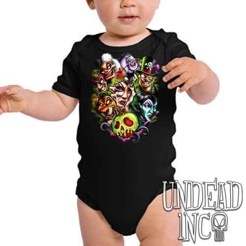 Disney Villains Born To Be Bad - Infant Onesie Romper
