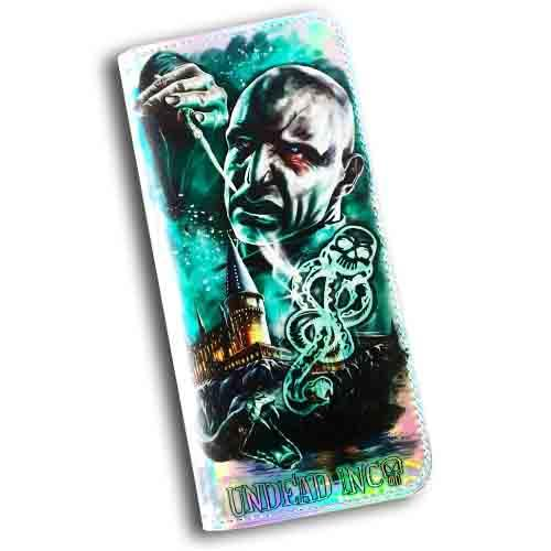 Harry Potter Voldemort Dark Mark Undead Inc  Long Line Wallet Purse