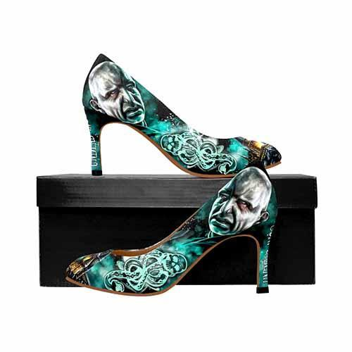 Harry Potter Voldemort Dark Mark MEDIUM High Heels