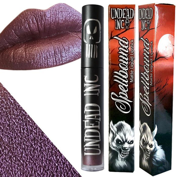 Undead Inc Spellbound Voodoo Magic Metallic Matte Liquid Lipstick