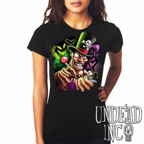 Villains Dr Facilier Voodoo Ray - Ladies T Shirt Ladies T-shirts Undead Inc