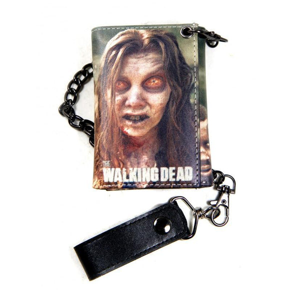 The Walking Dead Wallet With Chain