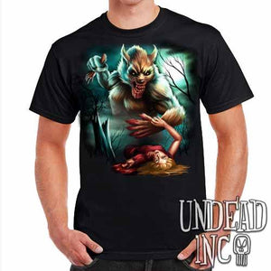Werewolf Moonlight Murder - Mens T Shirt