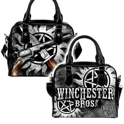Undead Inc Winchester Bros Shoulder / Hand Bag