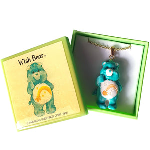 Care Bears 1985 - Wish Bear NECKLACE
