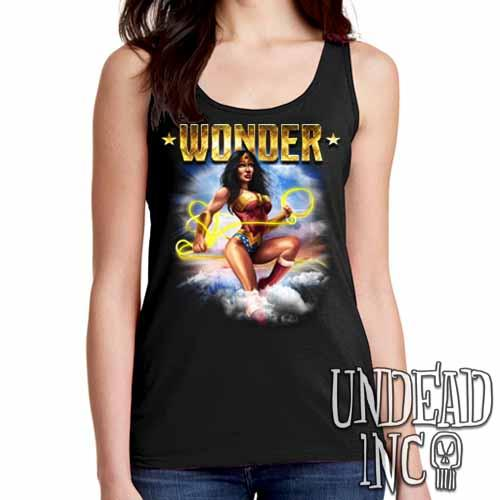 Wonder Woman - Ladies Singlet Tank