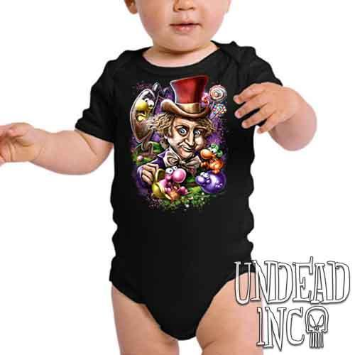 Willy Wonka & The NERDS Factory - Infant Onesie Romper