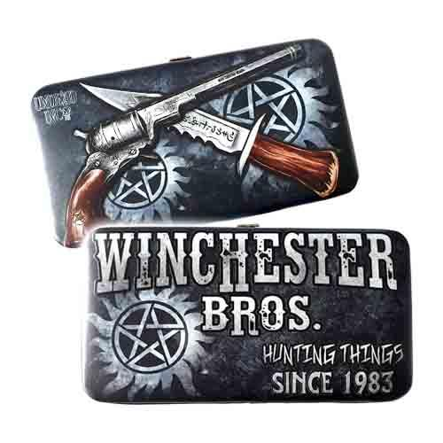Winchester Bros. Hunting Things Undead Inc Hinge Long Line Wallet