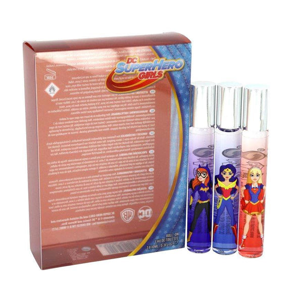 DC Super Hero Girls Roll On Perfume Set Of 3 - Undead Inc Fragrance,