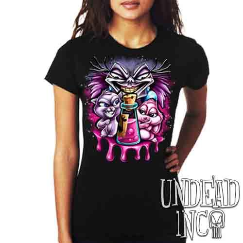 Yzma Essence Of Llama - Ladies T Shirt Ladies T-shirts Undead Inc