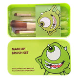 Monsters Inc Mike 5 Piece Makeup Brush Set