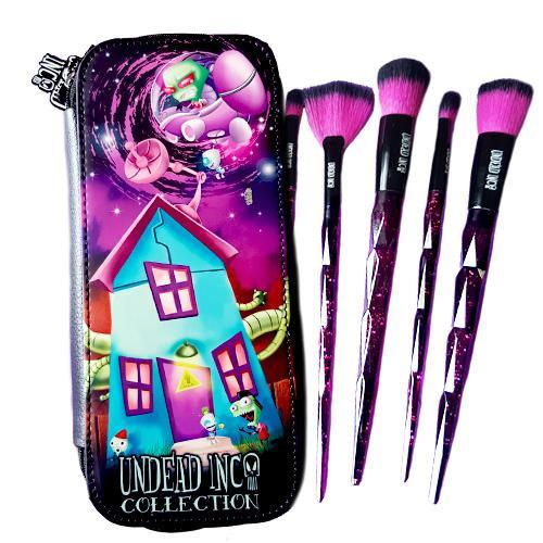 Undead Inc Collection Invader Zim Galaxy - Makeup Brush & Case Set