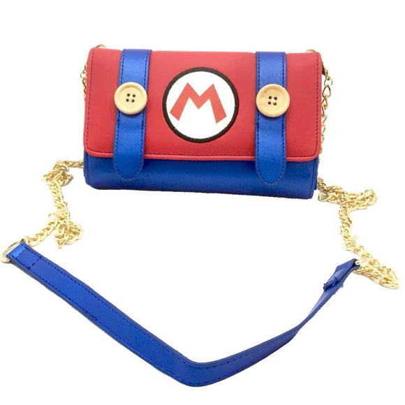 Nintendo Super Mario Shoulder Bag / Clutch Purse Wallet