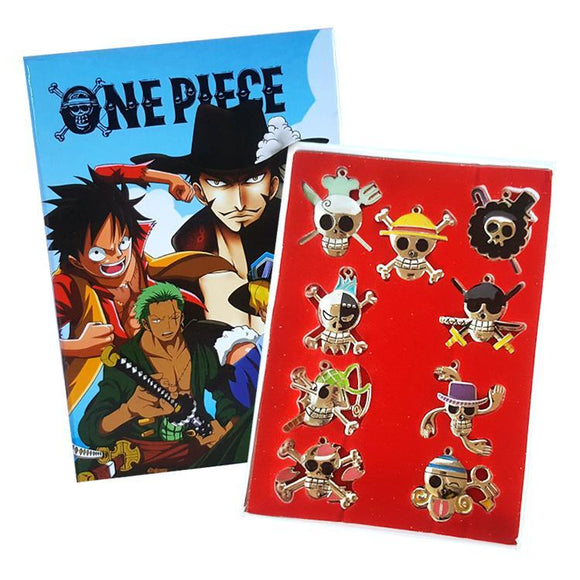 One Piece Necklace & Key Chain Box Set