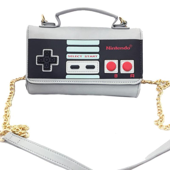 Nintendo Game Controller Shoulder Bag / Clutch Purse Wallet