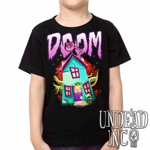 Invader Zim Gir House Of DOOM - Kids Unisex Girls and Boys T shirt Clothing