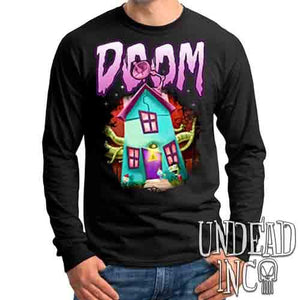 Invader Zim Gir House Of DOOM - Mens Long Sleeve Tee