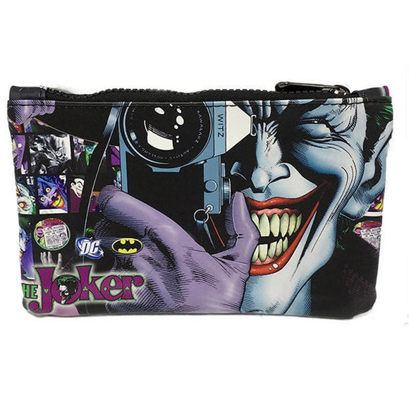 Joker Comic Book Killing Joke Pu Leather Cosmetics Bag