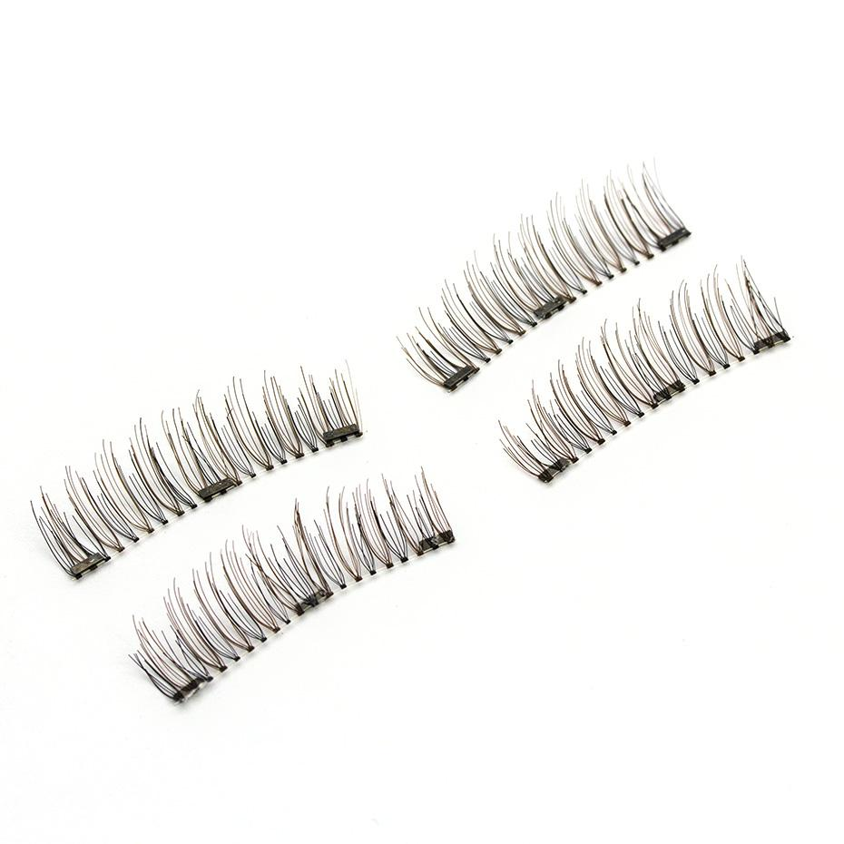 3 Magnetic 6d False Eyelashes The New Design Which Prevented All