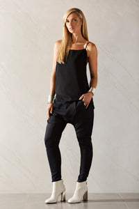 Womens long cami allbases