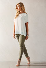 Womens long line tee allbases