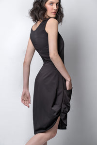 womens asymmetric dress allbases