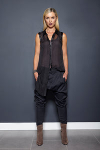 Womens drop crotch pant allbases