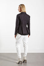 Womens peplum geometric cloth jacket allbases