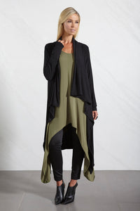 Womens loose fitting dress with long sleeves allbases