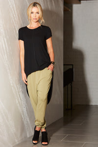 womens drop crotch relaxed pant allbases
