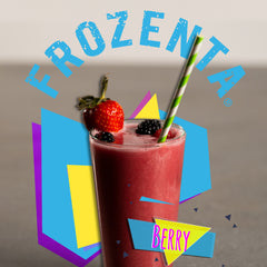 Photo of a Frozenta berry smoothie