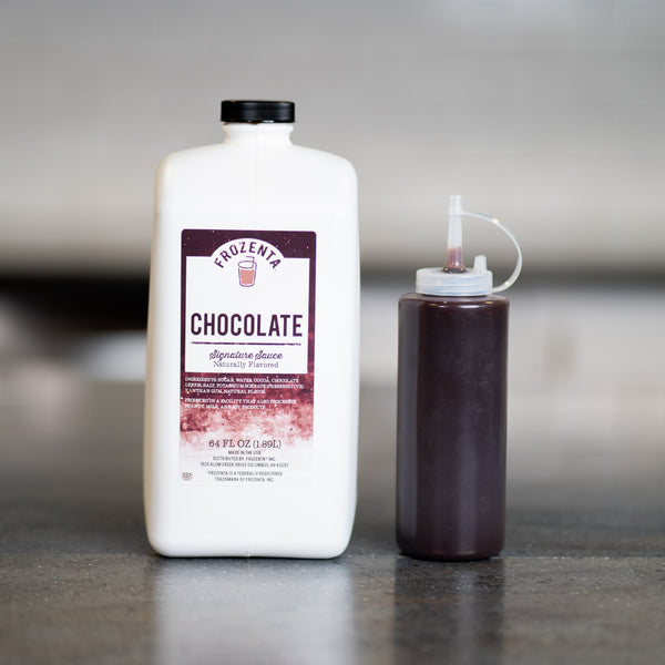 Photo of a Frozenta Signature Chocolate Sauce