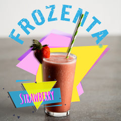 Photo of  a Frozenta strawberry smoothie