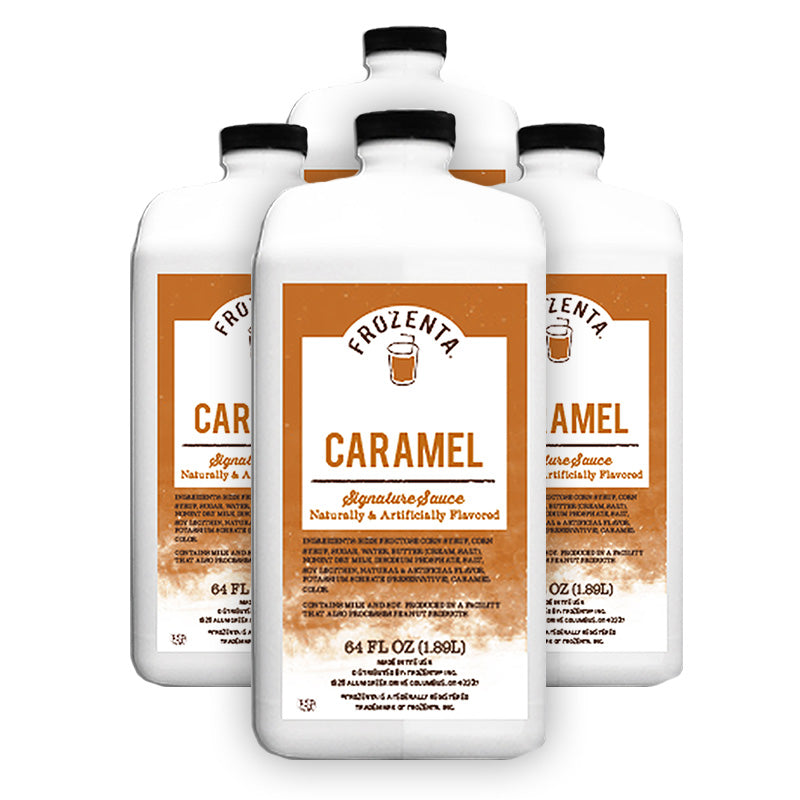 Frozenta Signature Caramel Sauce - 4 Pack (256 oz.)