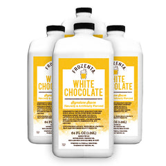 Frozenta Signature WHITE Chocolate Sauce - 4 Pack (256 oz.)