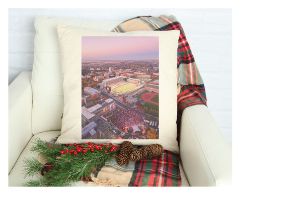 Gameday linen pillow case covers