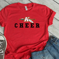 Parent cheer shirt