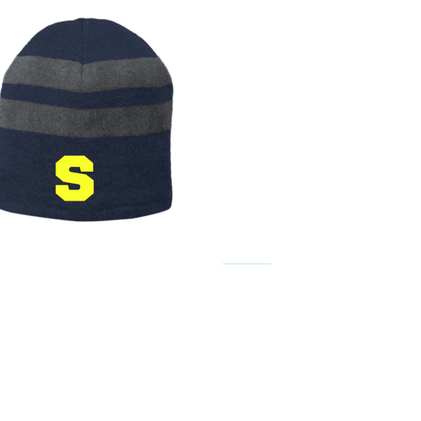 Navy and grey Beanie
