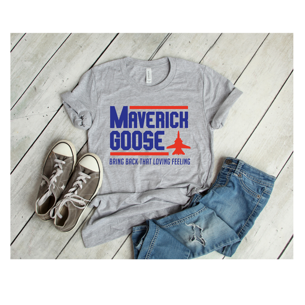 Maverich and goose